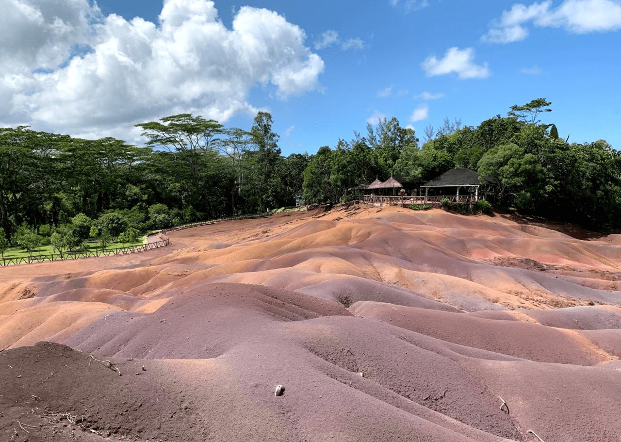 7色の大地の画像